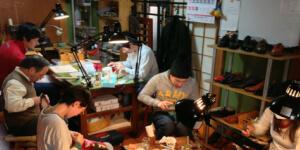 靴作り教室のイメージ