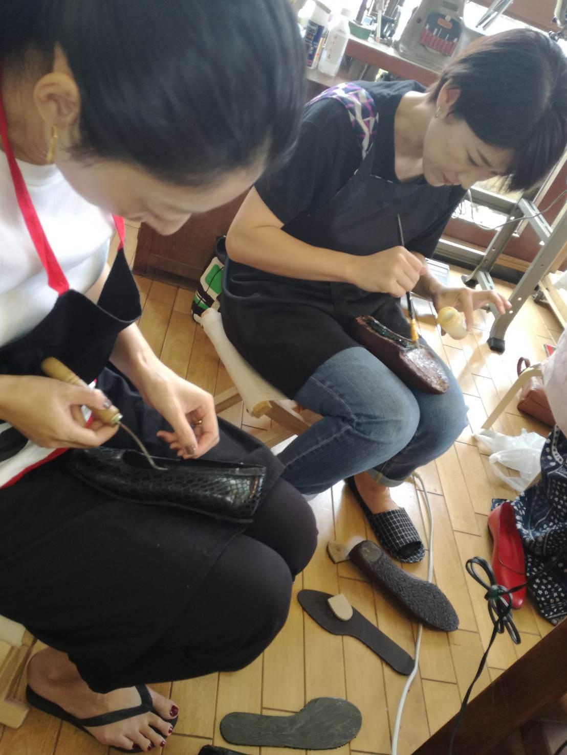 靴作り女子部